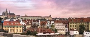 Prague Castle from Charles Bridge. Photo by Michal Barbuscak